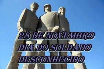No dia do Soldado Desconhecido, nossa homenagem aos nossos soldados que não  são reconhecidos | :: JC 24 Horas - Justiça e Cidadania ::